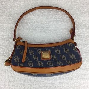 Dooney & Bourke small blue denim purse